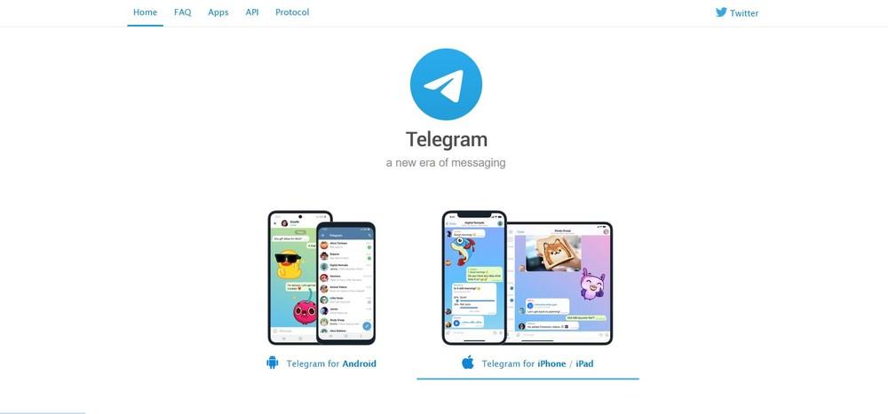 telegram chat app